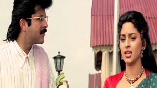 Anil Kapoor, Juhi Chawla, Karishma Kapoor - Andaz, Emotional Scene 17/22