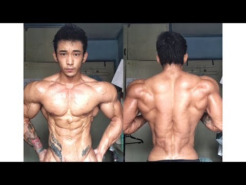 Ken Hanaoka - ASIAN (Filipino) GENETICS! Men's Physique champion