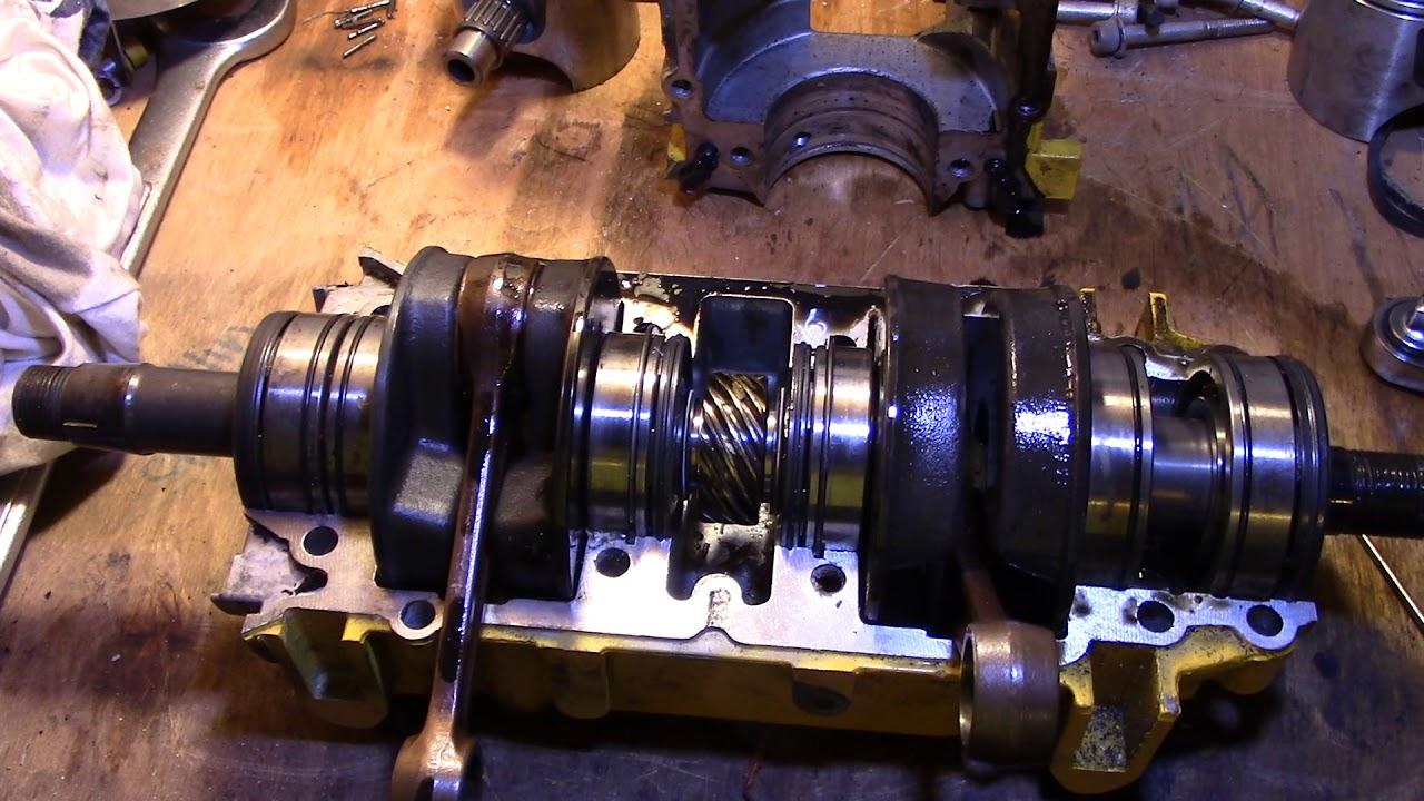 Seadoo 587 Crankcase Crankshaft Rotary Gear