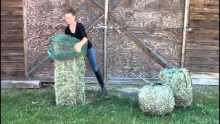 NAG Bag's - Loading Your Small Square Bale Bag