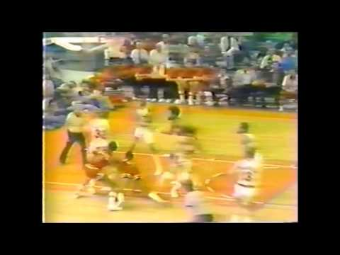 1977 Playoffs Chicago@Portland Game 3 HIGHLIGHTS