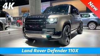 Land Rover Defender 2020 - FIRST in-depth look in 4K | Interior - Exterior (First Edition and X)