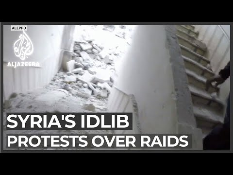 Syria's Idlib protesters: