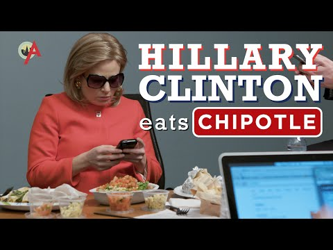 Hillary Clintons Chipotle Order