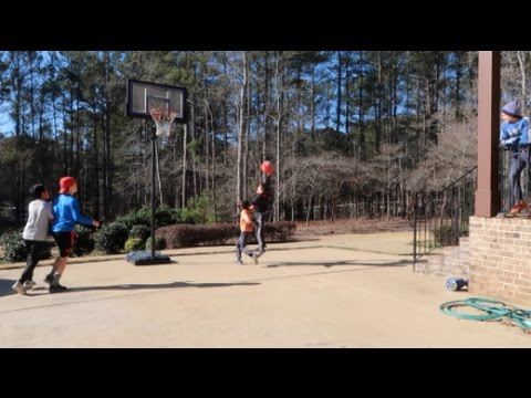 KID PERFECT   Basketball World Cup Game 1 clutch double OT!!!