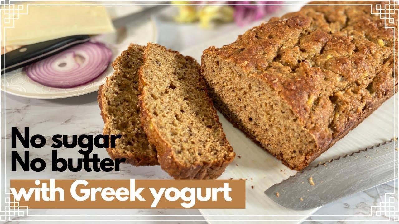 Download HEALTHY WHOLE WHEAT BANANA BREAD RECIPE |  Easy Banana Bread Recipe - SUPER MOIST