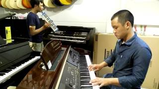 Phúc cho ai xót thương piano and pianica (blest are the merciful piano and pianica)