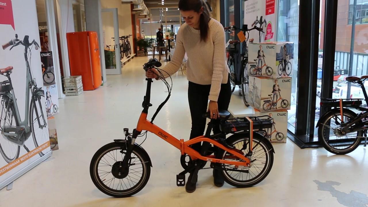 Instruction Of Qwic Compact Bike C Fn7 English Youtube