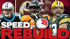"Washington Football Team Speed Rebuild! Rebuilding The Washington ""Redskins"" Madden 20 Rebuild!"