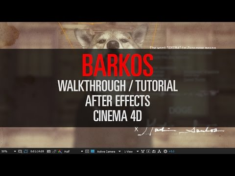 Barkos  - Video Walkthrough (After Effects + Cinema 4D)