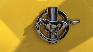 35th Anniversary Ford Mustang Walk Around