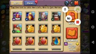 Showing you what my clash of clans and clash of lords