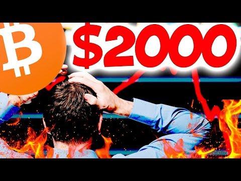 Биткоин БЕГИТЕ С РЫНКА! СКОРО $2000 за 1 BTC!