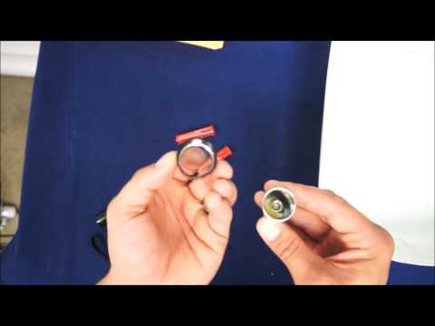 LingsFire Revolution Switch Under Water Diving Torch Product Review