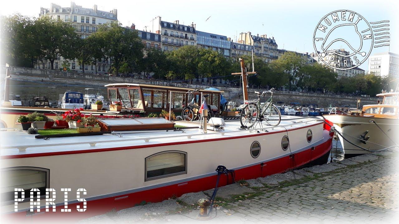 PARIS,  PORT DE L'ARSENAL  🚶♀️🚶  1 MOMENT IN PARIS