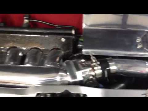 04 Civic Si  turbo show car with Water to Air intercooler