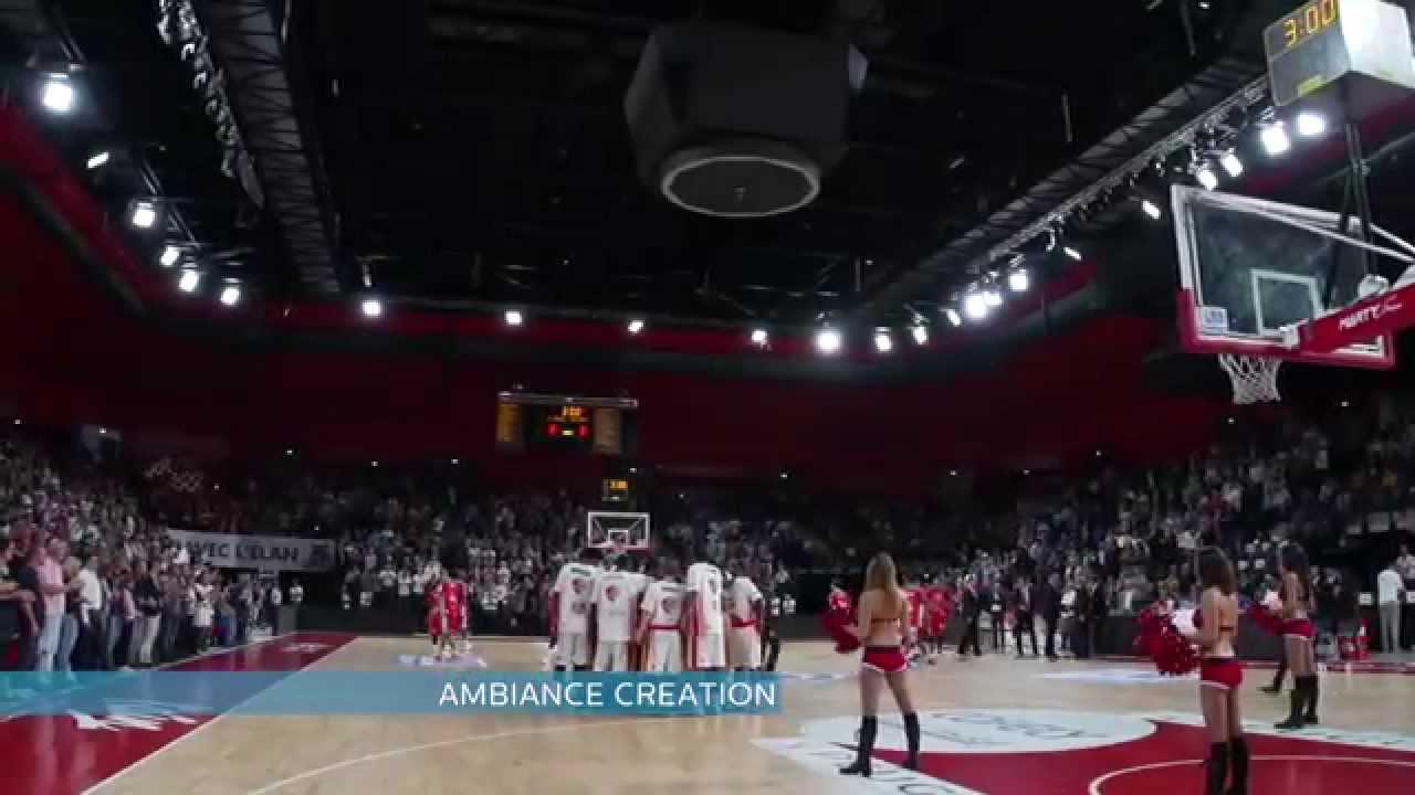 World premiere in Ekinox Arena for ArenaVision LED