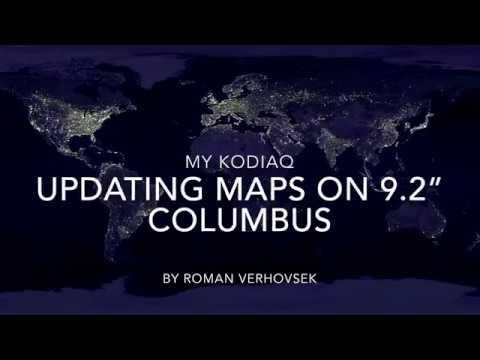 """My Skoda Kodiaq - Updating Maps on 9,2"""" Columbus HOWTO"""