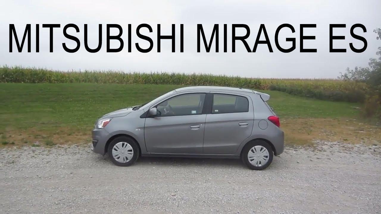 2017 Mitsubishi Mirage Es Full Al