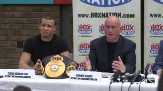 Chris Eubank Jr & Billy Joe Saunders Rematch Press Conference