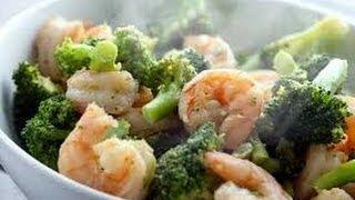 Garlic Shrimp Chicken And Broccoli