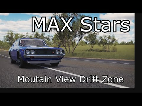 Forza Horizon 3 - MAX Stars on Mountain View Drift Zone