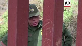 Migrant family tries to cross into US illegally