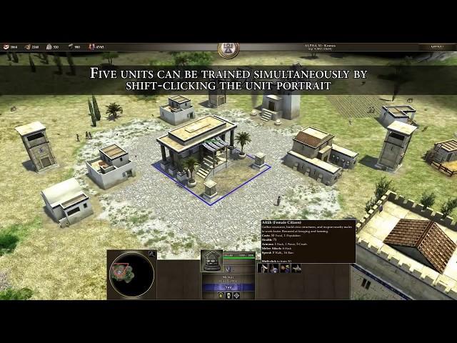 0 A D tutorial tres - Unidades