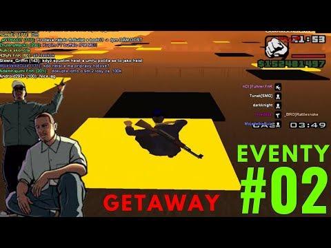 EVENTY #02 | GETAWAY | GTA SAMP - WTLS | CZ/SK