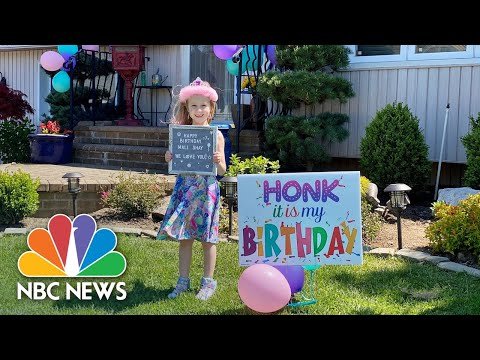 Celebrating Kids' Birthdays In Quarantine | Nightly News: Kids Edition
