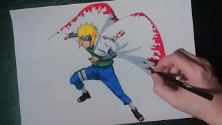 SPEED DRAWING FOURTH HOKAGE MINATO NAMIKAZE