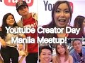 Youtube Creator Day Manila - Say Tioco, Ranz Kyle,  Niana Guerrero, Hazel Faith