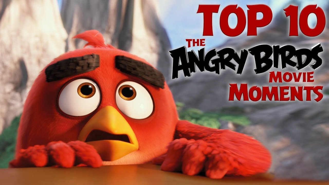 Angry Birds - Top 10 Angry Birds Movie Moments - YouTube
