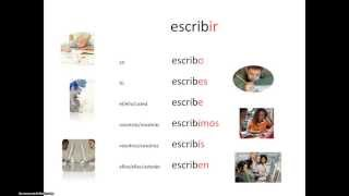Espanjan ir-verbien taivutus