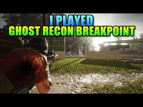 I Played Ghost Recon Breakpoint