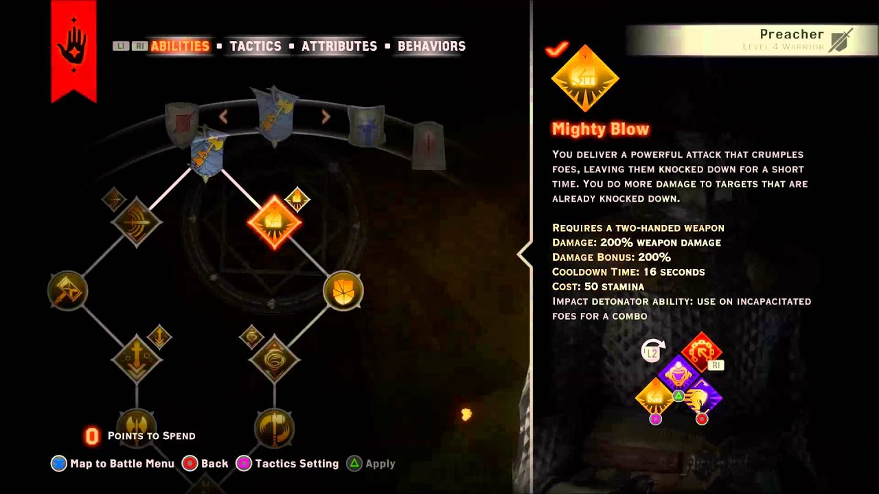 Dragon Age Inquisition 2 Handed Warrior Nightmare Build Youtube