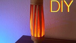 DIY Eiche Furnier Lampe - Selbst gemacht