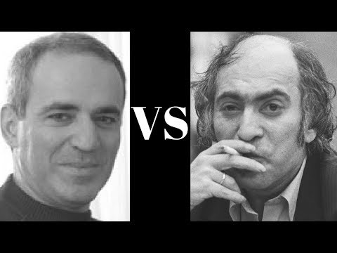 Amazing Game: Garry Kasparov vs Mikhail Tal - First Serious Game - USSR Ch 1978 Magician!