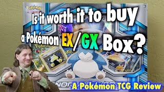 Is it worth it to buy a Pokemon EX / GX Box? A Pokemon TCG Review