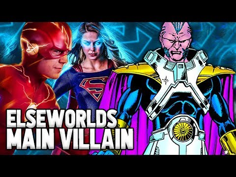"""Arrowverse """"Elseworlds"""" Crossover Main Villain Explained! The Monitor!"""