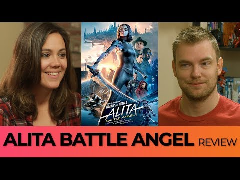 Alita Battle Angel Review I The Movie Therapy Channel