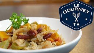Moroccan Bean And Pepper Stew Recipe - Legourmettv