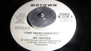 Joe Frazier First round knockout
