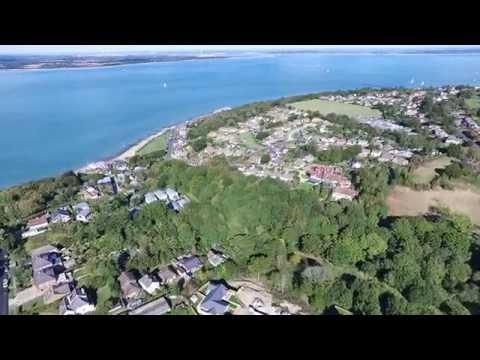 An Aerial Trip Around Cowes and Gurnard