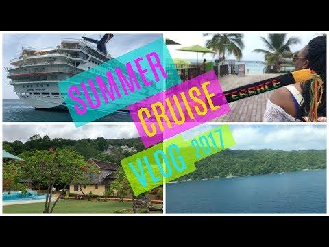 SUMMER CRUISE VLOG   JAMAICA & CAYMAN ISLANDS