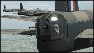 Vickers Wellington bomber; IL-2 Cliffs of Dover Aircraft 1