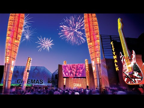 Universal Studios CityWalk Hollywood – Top of Hour Video Montage on YouTube