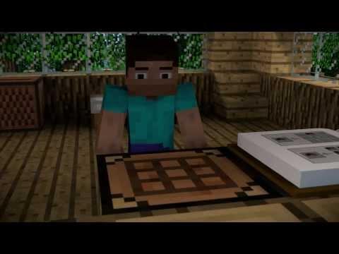 Как летать - Minecraft animation