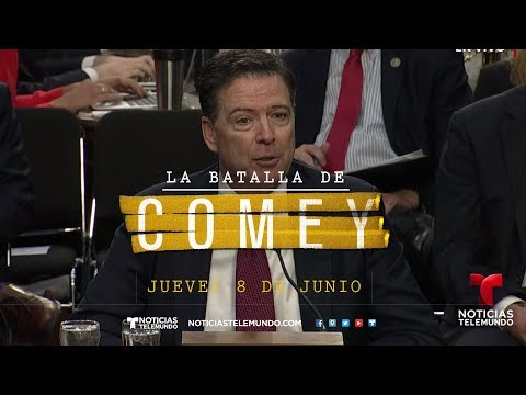 EN VIVO: Comparecencia en el Senado de James Comey, ex Director del FBI | Noticias | Telemundo
