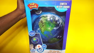 Amazing RC Earth in my room !!…